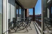 Sonnige Balkon