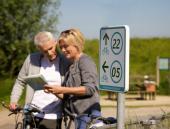 Natürlich können Sie hier auch Rad fahren