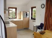 keuken koelkast met vriesvakje en combimagnetron