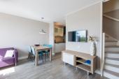 ligte en ruime woonkamer