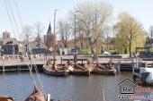 Gemütliches Städtchen Elburg - kleine Hafen
