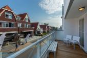 zonnige balkon
