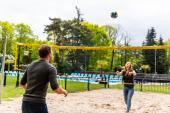 Volleybalveld